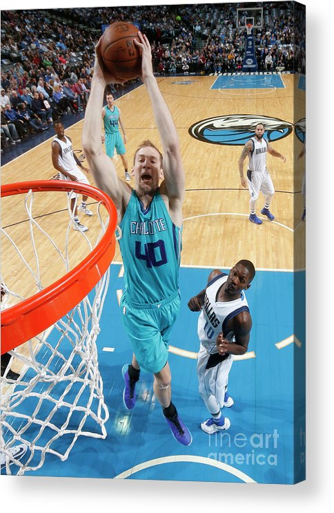 Nba Pro Basketball Acrylic Print featuring the photograph Cody Zeller by Glenn James