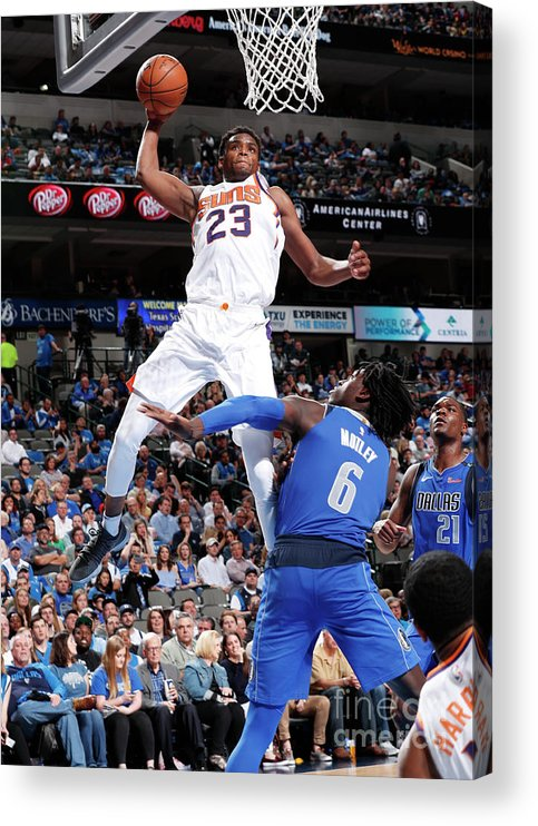 Sports Ball Acrylic Print featuring the photograph Danuel House by Danny Bollinger