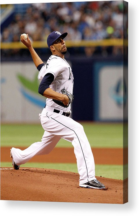 David Price Acrylic Print featuring the photograph David Price by Brian Blanco