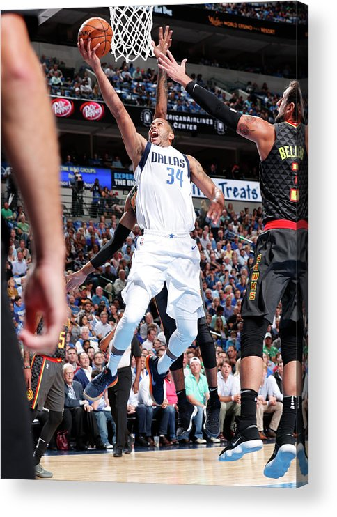 Nba Pro Basketball Acrylic Print featuring the photograph Devin Harris by Danny Bollinger