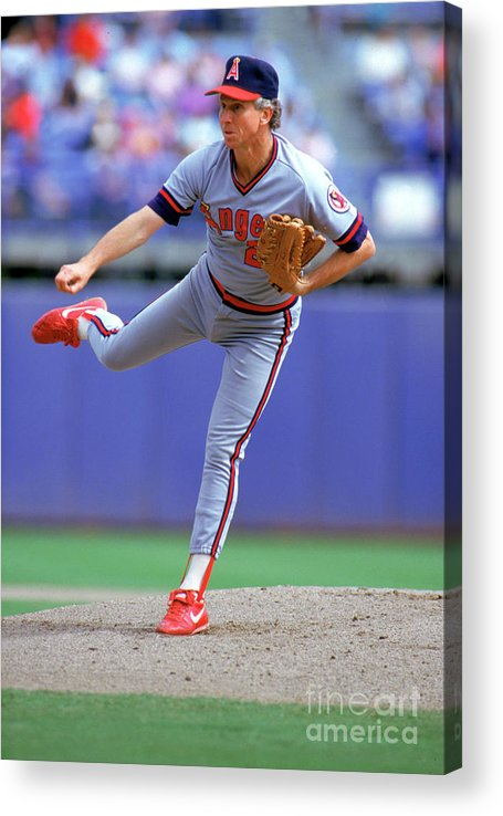 1980-1989 Acrylic Print featuring the photograph Don Sutton by Louis Deluca