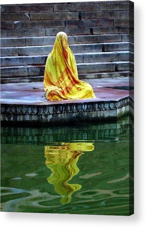 Meditate Acrylic Print featuring the photograph Ganga Dream by Skip Hunt