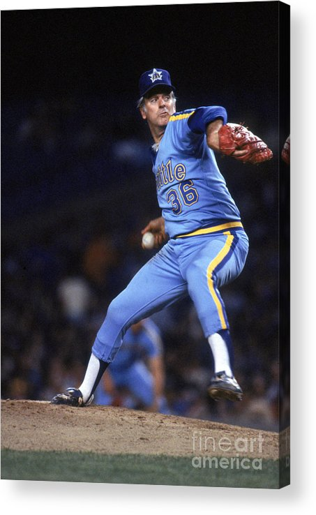 1980-1989 Acrylic Print featuring the photograph Gaylord Perry by Rich Pilling