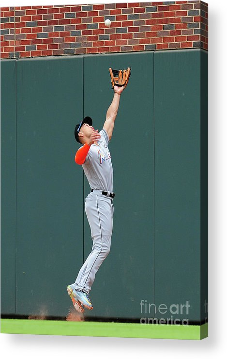 Atlanta Acrylic Print featuring the photograph Giancarlo Stanton by Scott Cunningham