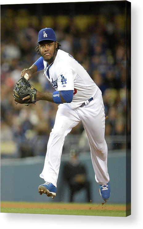 California Acrylic Print featuring the photograph Hanley Ramirez by Harry How