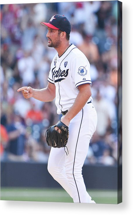 Ninth Inning Acrylic Print featuring the photograph Huston Street by Denis Poroy