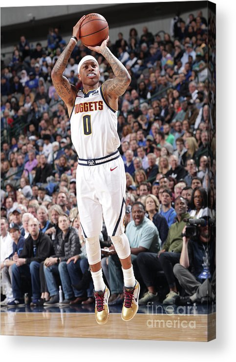 Nba Pro Basketball Acrylic Print featuring the photograph Isaiah Thomas by Glenn James