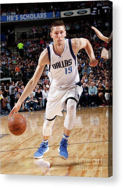 Nba Pro Basketball Acrylic Print featuring the photograph Jarrod Uthoff by Glenn James