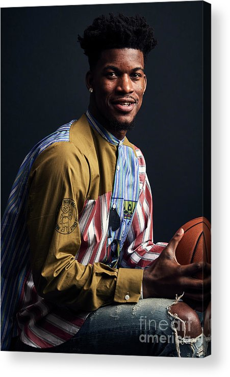 Event Acrylic Print featuring the photograph Jimmy Butler by Jennifer Pottheiser