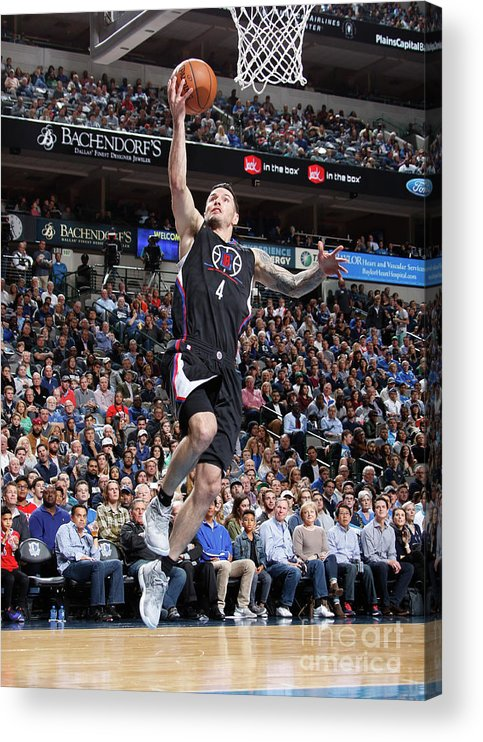 Nba Pro Basketball Acrylic Print featuring the photograph J.j. Redick by Danny Bollinger
