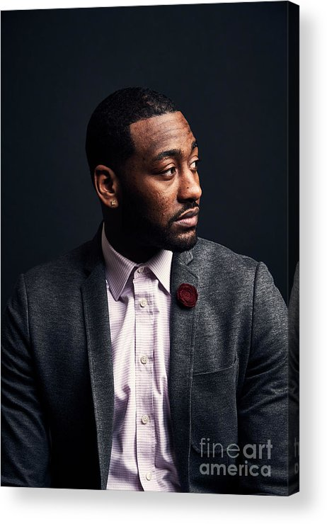 Event Acrylic Print featuring the photograph John Wall by Jennifer Pottheiser