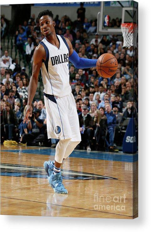 Nba Pro Basketball Acrylic Print featuring the photograph Jonathan Gibson by Danny Bollinger