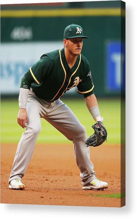 American League Baseball Acrylic Print featuring the photograph Josh Donaldson by Scott Halleran