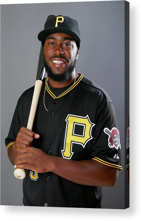 Media Day Acrylic Print featuring the photograph Josh Harrison by Elsa