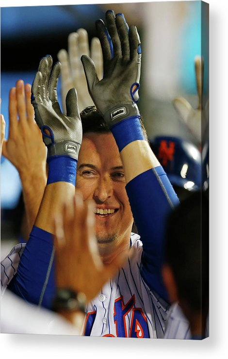Ninth Inning Acrylic Print featuring the photograph Kelly Johnson by Rich Schultz