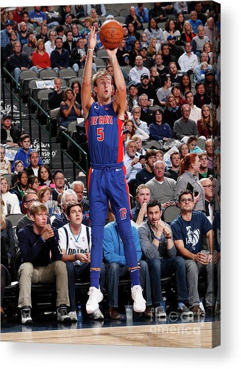 Nba Pro Basketball Acrylic Print featuring the photograph Luke Kennard by Danny Bollinger