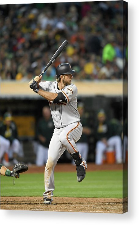 People Acrylic Print featuring the photograph Madison Bumgarner by Thearon W. Henderson