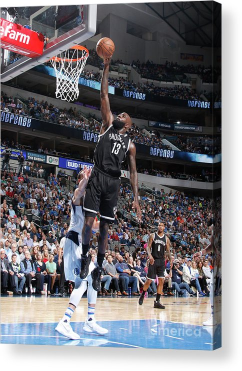Nba Pro Basketball Acrylic Print featuring the photograph Quincy Acy by Danny Bollinger