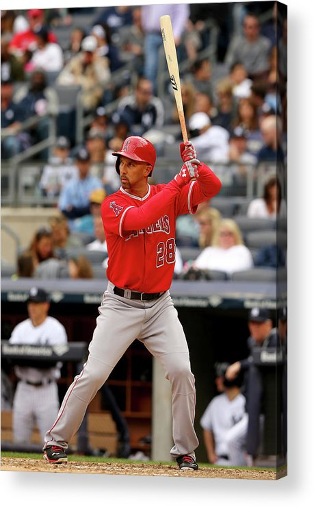 American League Baseball Acrylic Print featuring the photograph Raul Ibanez by Elsa