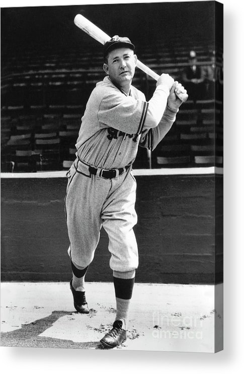 1910-1919 Acrylic Print featuring the photograph Rogers Hornsby by National Baseball Hall Of Fame Library