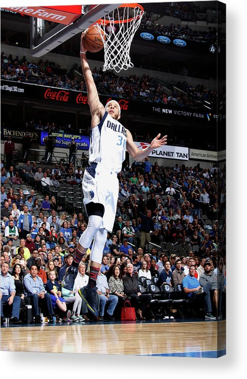 Nba Pro Basketball Acrylic Print featuring the photograph Seth Curry by Danny Bollinger