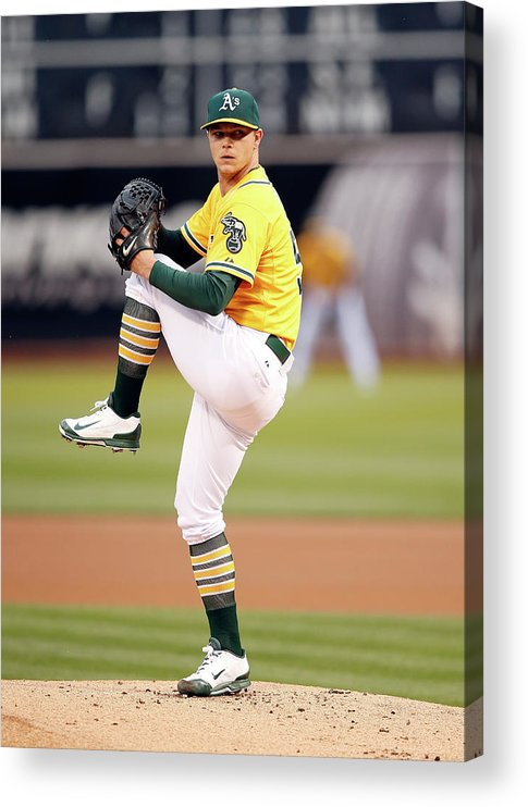People Acrylic Print featuring the photograph Sonny Gray by Ezra Shaw