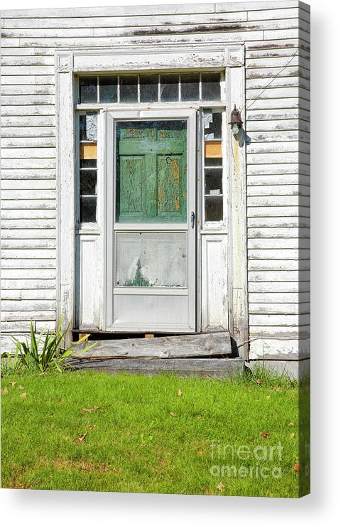 New Hampshire Acrylic Print featuring the photograph The Sawyer House - Franklin New Hampshire by Erin Paul Donovan