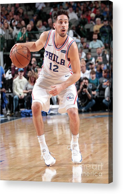 Nba Pro Basketball Acrylic Print featuring the photograph T.j. Mcconnell by Glenn James