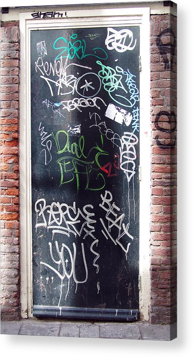 Door Acrylic Print featuring the photograph Door Amsterdam by Kevin Callahan