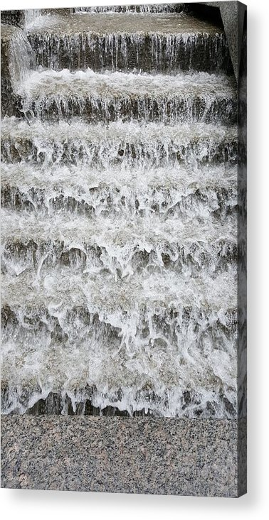 Waterfall Acrylic Print featuring the photograph N Y C Waterfall by Rob Hans