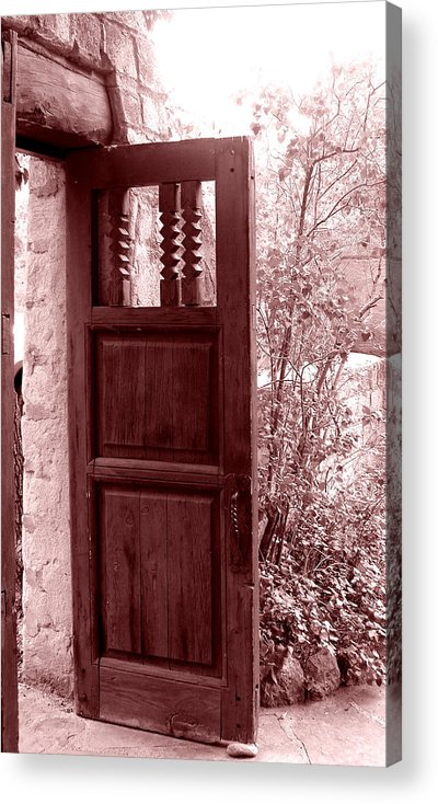Door Acrylic Print featuring the photograph The Door by Wayne Potrafka