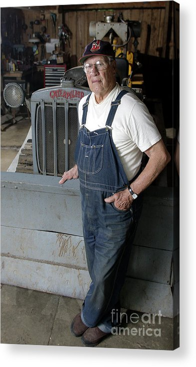 People Acrylic Print featuring the photograph Bob Hall by Icon Sports Wire