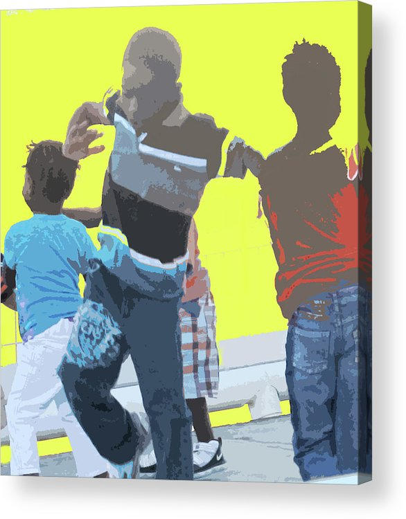 Children Acrylic Print featuring the photograph Play by Ian MacDonald