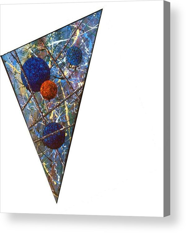 Abstract Acrylic Print featuring the painting Continuum 3 by Micah Guenther