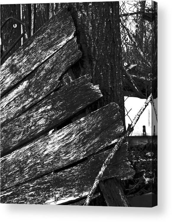 Acrylic Print featuring the photograph OldDoorNextDoor16-18 by Curtis J Neeley Jr