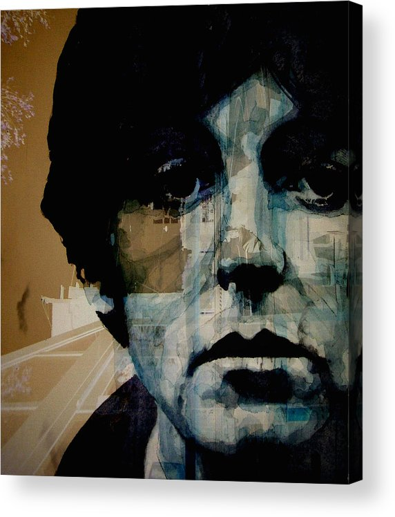 Paul Mccartney Acrylic Print featuring the painting Penny Lane by Paul Lovering
