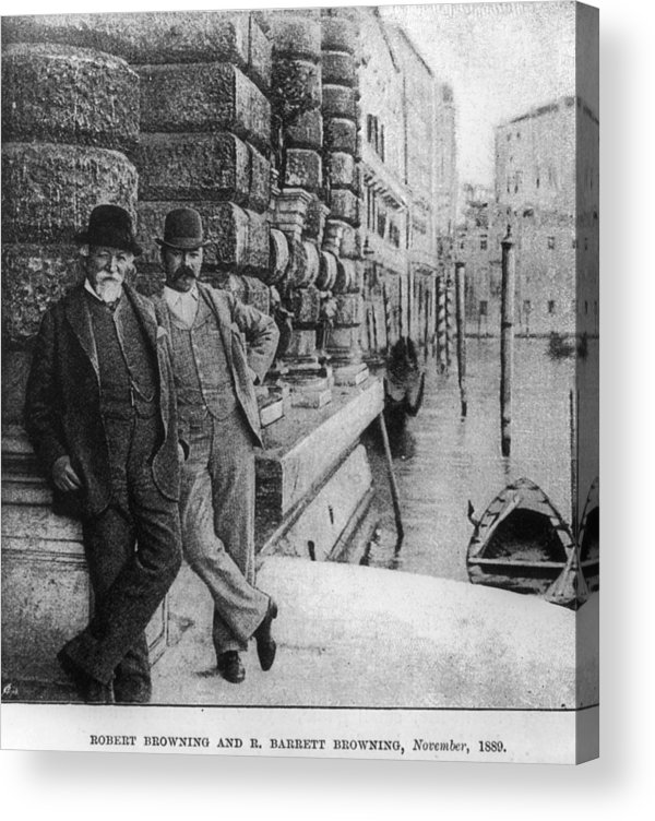 People Acrylic Print featuring the photograph Father And Son by Barclay