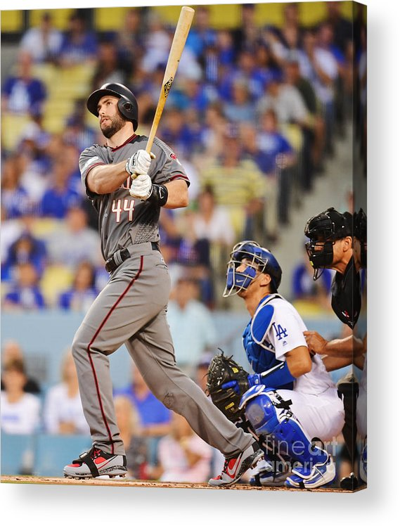 Game Two Acrylic Print featuring the photograph Paul Goldschmidt by Harry How