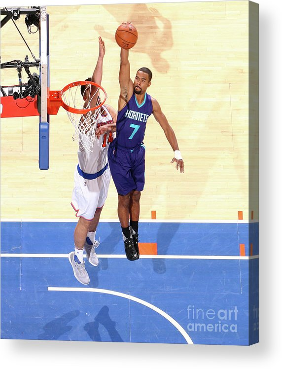 Nba Pro Basketball Acrylic Print featuring the photograph Ramon Sessions by Nathaniel S. Butler