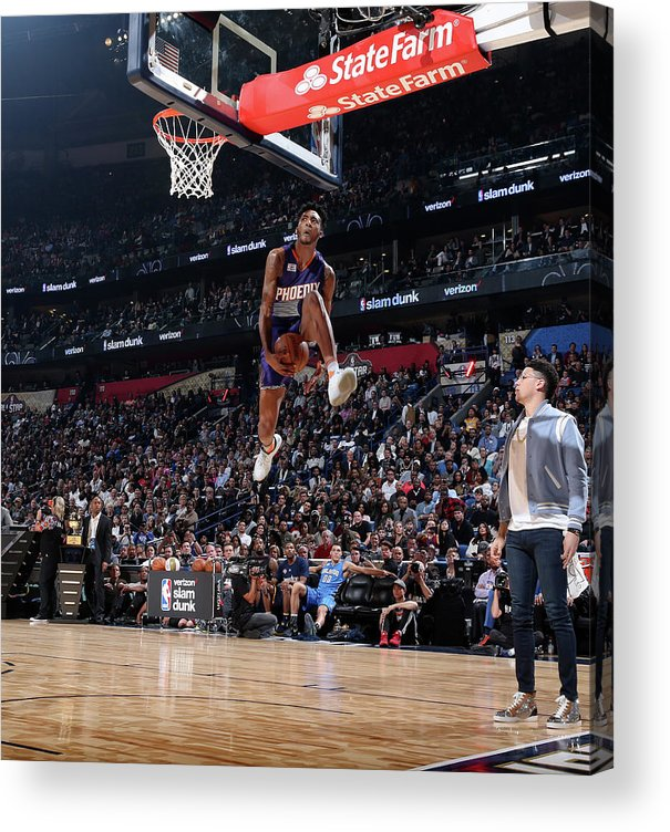 Event Acrylic Print featuring the photograph Derrick Jones by Nathaniel S. Butler