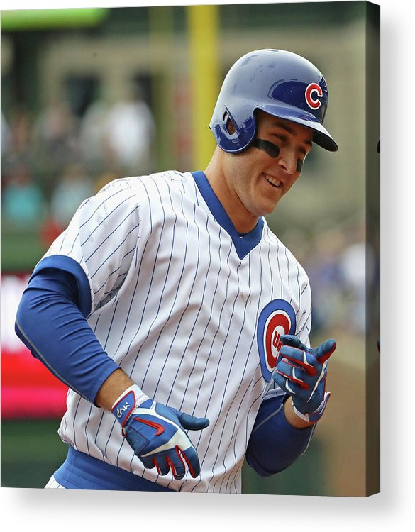 People Acrylic Print featuring the photograph Anthony Rizzo by Jonathan Daniel