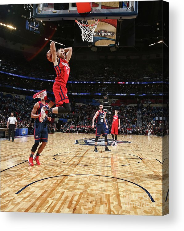 Event Acrylic Print featuring the photograph Dante Exum by Nathaniel S. Butler