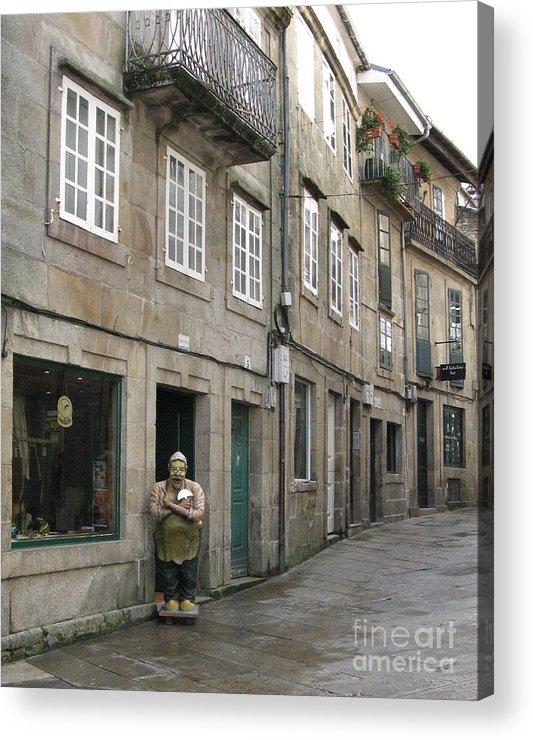 Spain Acrylic Print featuring the photograph Grumpy by Arlene Carmel