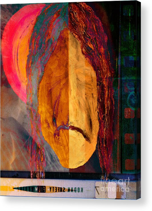 Portrait Acrylic Print featuring the photograph Portrait Of A Man 2 by Emilio Lovisa