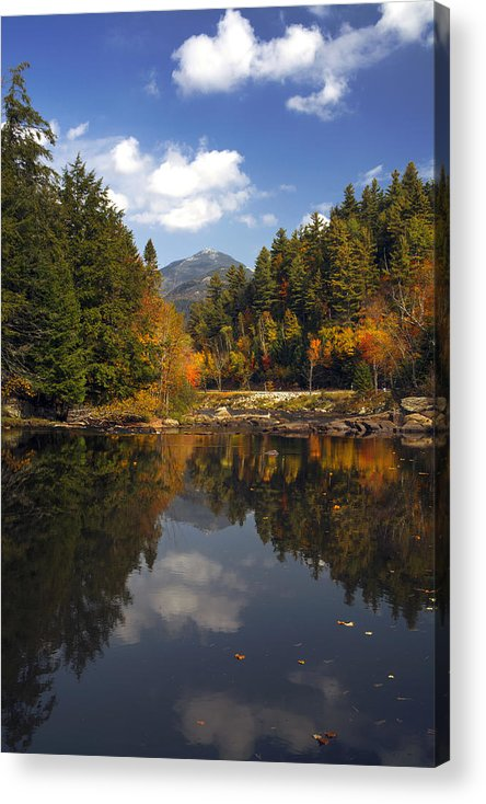 Adirondacks Acrylic Print featuring the photograph Whiteface Mountain by Steve Auger