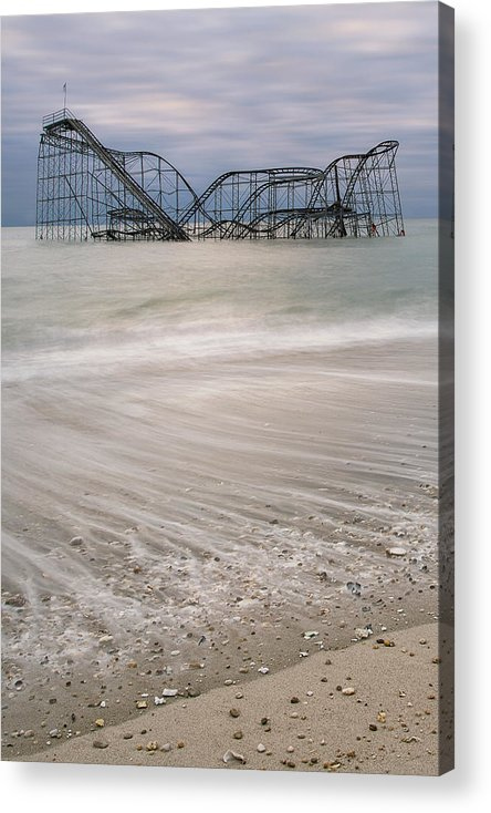 Hurricane Acrylic Print featuring the photograph Surf's Up by Mike Orso