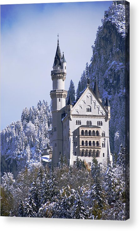 Neuschwanstein Castle Acrylic Print featuring the photograph Neuschwanstein Castle by Anthony Citro