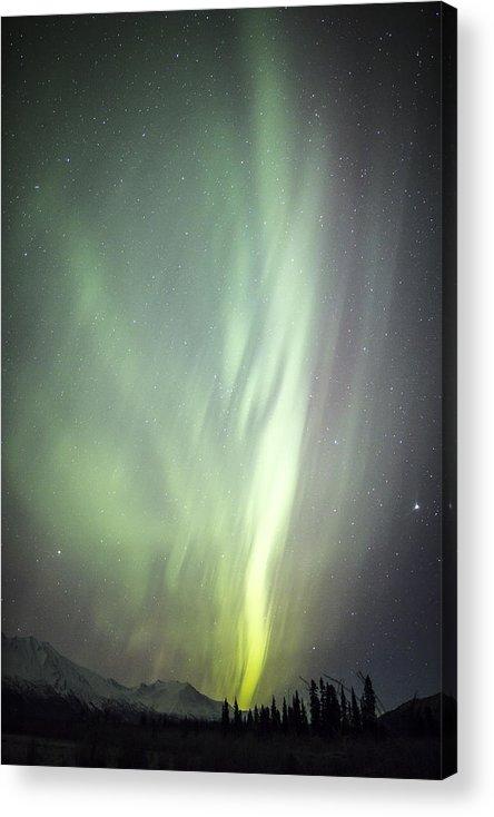 Aurora Acrylic Print featuring the photograph Spacial Light by Matt Skinner