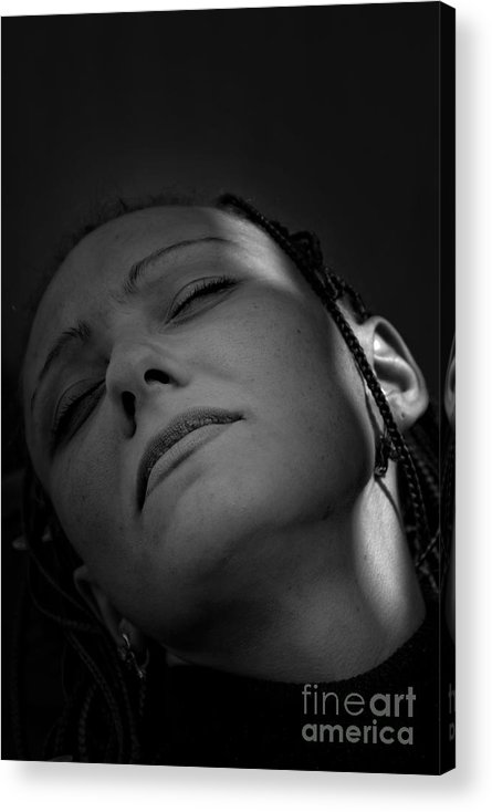 The Person Acrylic Print featuring the photograph Untitled by Vadim Grabbe