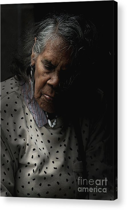 Portrait Acrylic Print featuring the photograph Alice by Sheila Smart Fine Art Photography